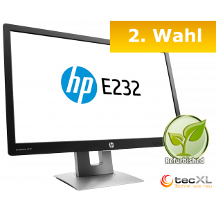 Hewlett Packard EliteDisplay E232, 23 Zoll, 1080p, 2.Wahl