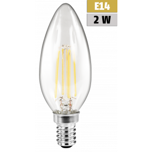 LED Filament Kerzenlampe McShine