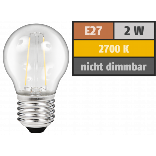 LED Filament Tropfenlampe McShine