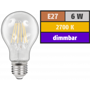 LED Filament Glühlampe McShine