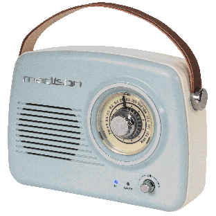 tragbares Nostalgie Radio MADISON